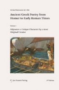 Ancient Greek Poetry from Homer to Early| Roman Times, Vol I-III