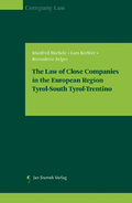 Mehr zu: The Law of Close Companies in the European Region| Tyrol-South Tyrol-Trentino