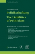 Politikerhaftung|The Liabilities of Politicians
